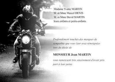 Motard à moto